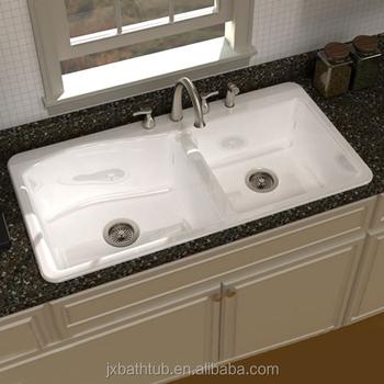 Cast Iron Apron Front Sink.Enameled Mop Double Bowl Undermount Apron Front Cast Iron Kitchen Sinks Buy Apron Front Cast Iron Sink Double Bowl Undermount Kitchen Sink Enameled