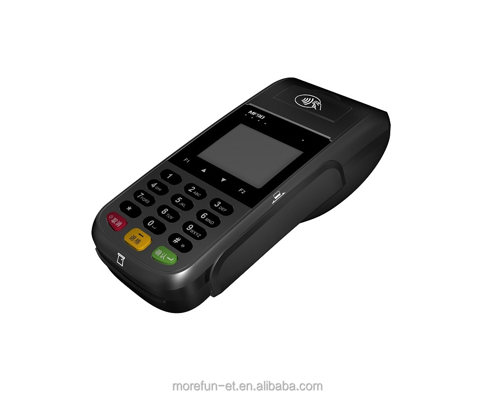 Pos Terminal POS Machine Wireless Handheld with NFC Barcode Reader EMV GPRS