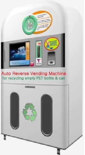 Auto Reverse Vending Machine for recycling bottle & can