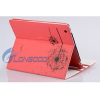 New Smart Dandelion Stand Leather Case Cover For iPad 3 iPad 2