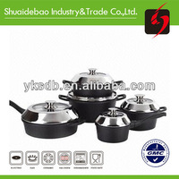 Non stick porcelain coated cast iron cookware