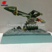 2014 Resin thunderbird helicopter model