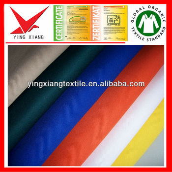 cotton fabric for uniform fabric garment fabric and workwear fabric