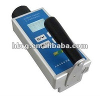 Environmental monitoring with X and Y absorbed dose rate meter, radiation detector
