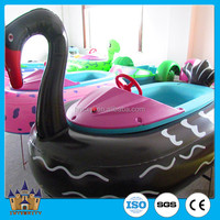 [direct manufacturer] swimming pool / electric Inflatable bumper 1 seat baby boat/amusement water games