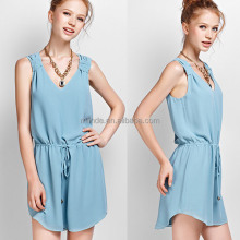 Ladies New Fashion V-neck Dress Wholesale Ladies Office Wear,Summer Dress