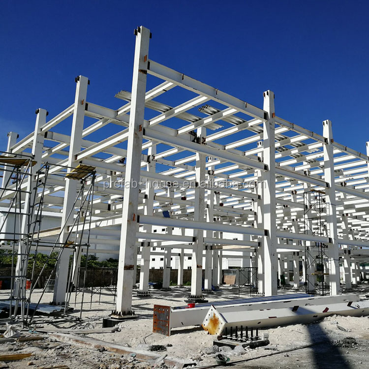 Galvanized steel frame buildings, steel frame roof shed, steel shed