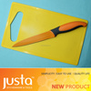 utility knife with rectangle plastic cutting board