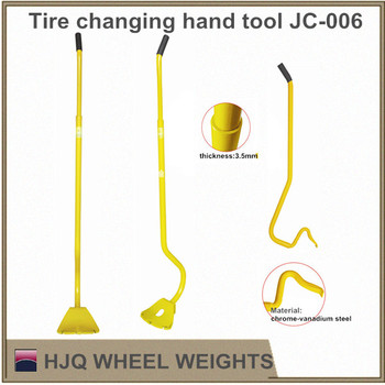 Tire hand changer tools