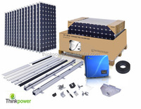 5kw solar energy home system for residential roof project