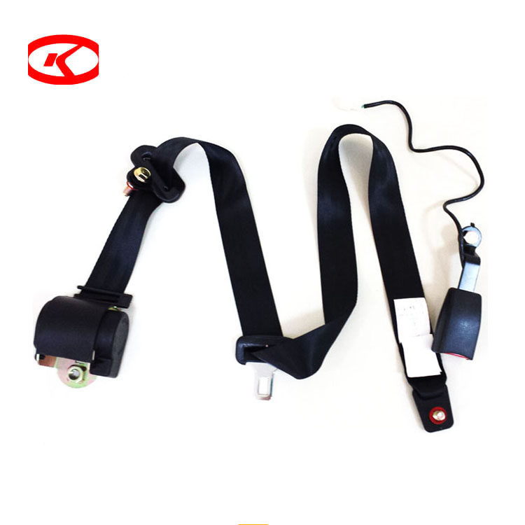 3 point retractable safety seat belt, universal 3 point seat belt