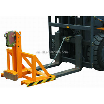 Gator Grip Forklift Drum Grab with Single Grip Head Type