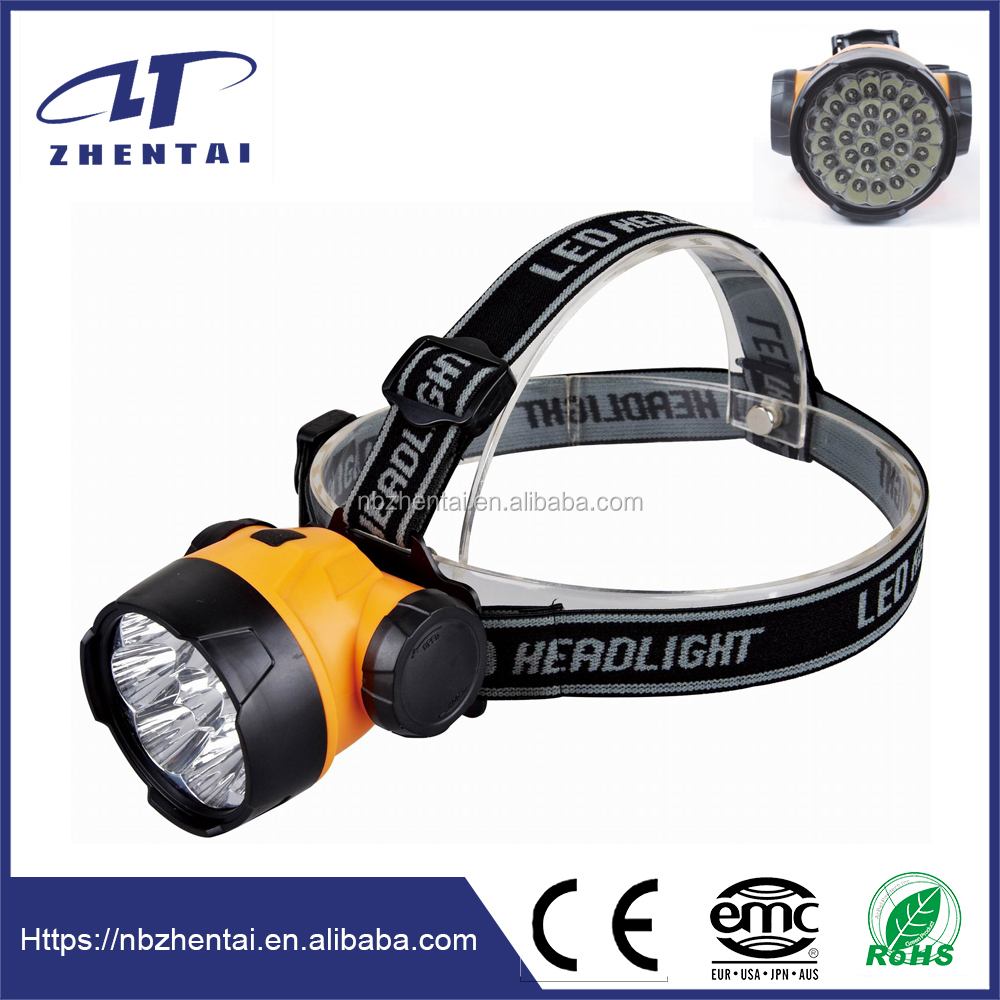 Multi lighting modes led minging headlamp, High output lumen 280 with 28 highlight leds, Double bliter package include