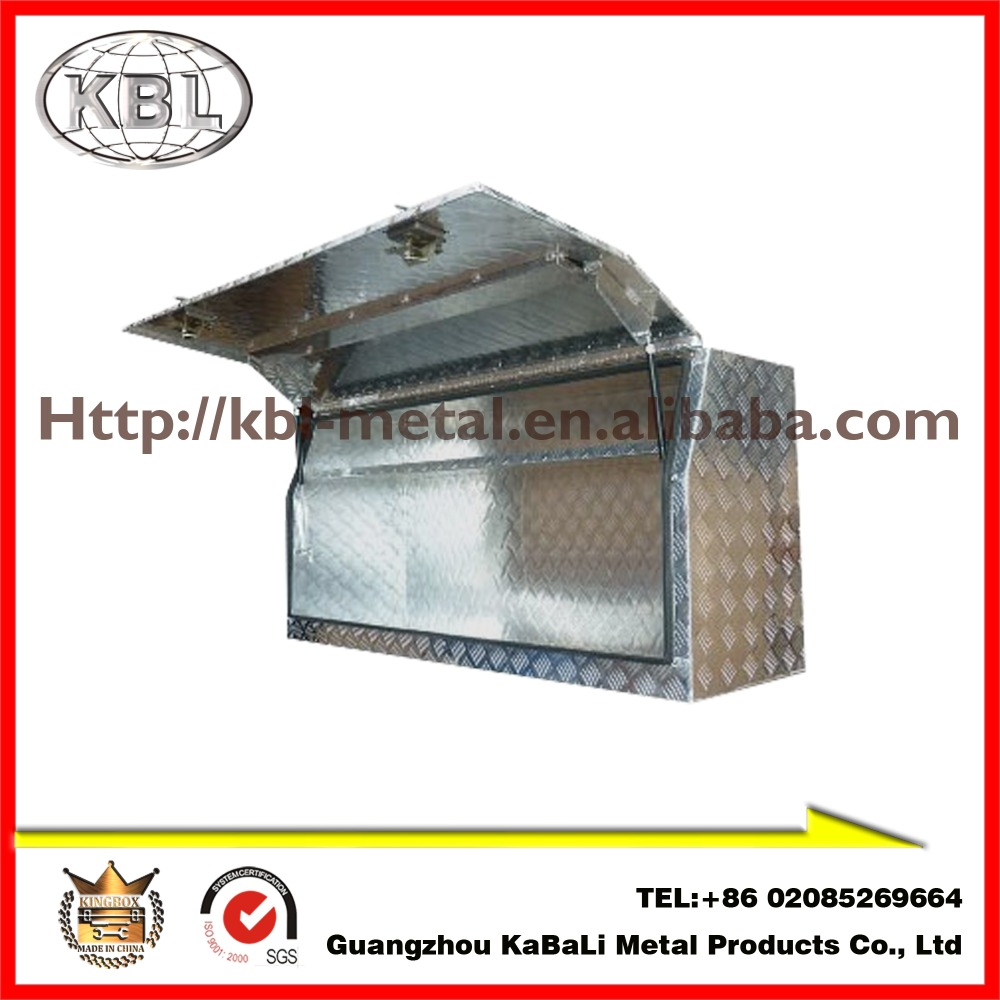 Custom Aluminum Checker Pickup Truck Us General Tool Box for utes(KBL-FTB1450)(OEM/ODM)