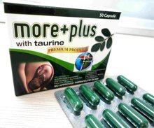 More Plus (Moringa Oleifera 300 mg with Taurine 100 mg)