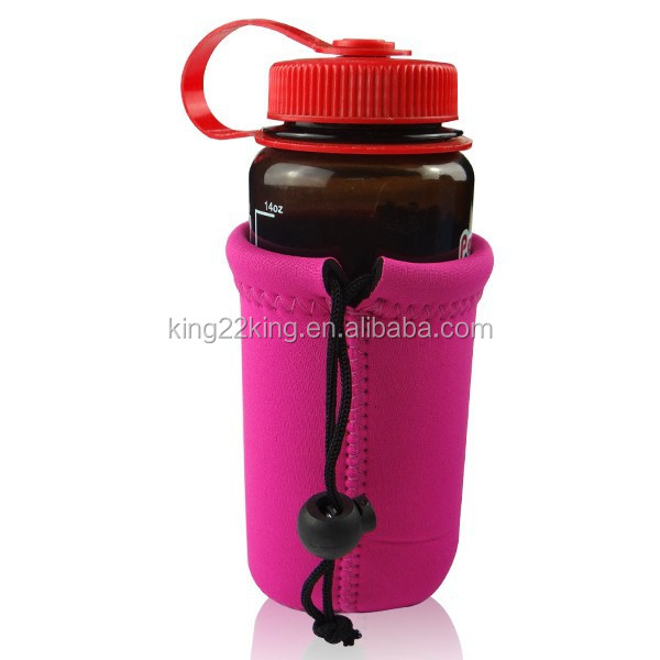 Widely Use Water Bottle Cooler bag /Wine Bottle Holder with rope