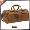 Distressed Leather Overnighter Duffel Bag Travel Bag Leather Duffel Travel Bag
