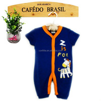 100% Cotton Baby Products Carter's Boy Baby Romper China Supplier 2016