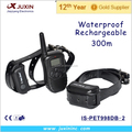 Waterproof and Rechargeable electric shock device For Dogs with 300M Remote Control Trainer
