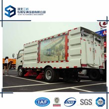 Airport Runway Sweeper Truck 6 Cbm Road Sweeper