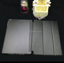 Popular Black PC PU leather cover for ipad case for apple ipad air