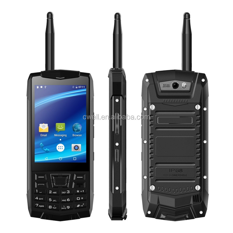 UNIWA N2 3.5 inch Touch Screen IP68 Waterproof Walkie Talkie Android Cellphones