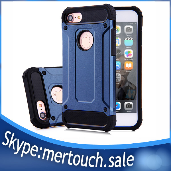 2017 Rugged Armor Mobilephone Case for iPhone 7 plus Shockproof For iPhone 7 Armor Phone Case
