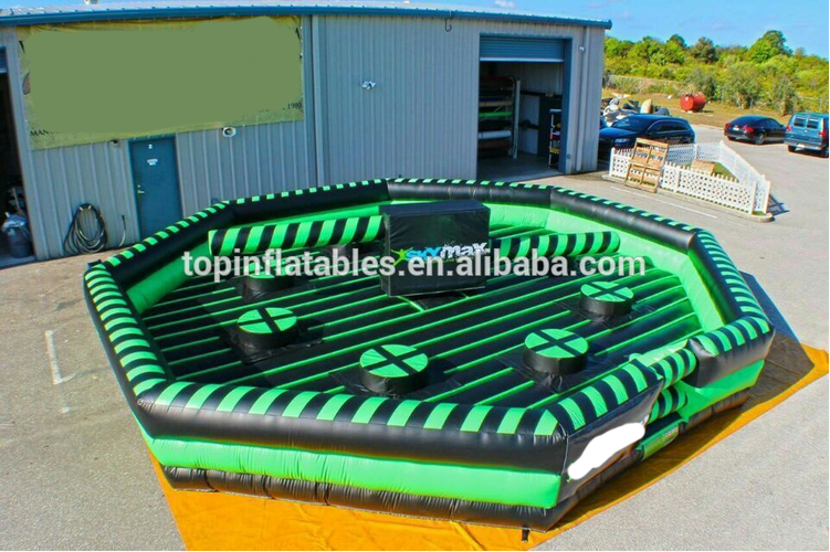 2017 inflatable wipeout for sale/inflatable meltdown games