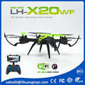 Height Keeping & Tracking Flight Drone LH-X20WF 2.4G WIFI Real Time Video Quadcopter Drone with Camera