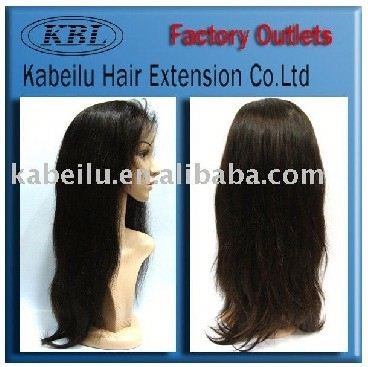 Supply all kinds of hair product 100% brazilian human hair,indian remy hair two tone color full lace wigs