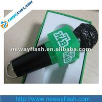 8gb nice microphone shape usb flash memory