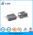 1A 600V MURS160 DO-214AA SMD super fast recovery rectifier
