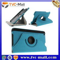 Light Blue 360 Degree Rotary Cloth Leather Case Cover for LG G Pad 8.3 V500 w/ Stand