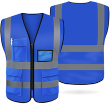 Green color High Reflective EN471 Road <strong>Safety</strong> Vest with logo OEM