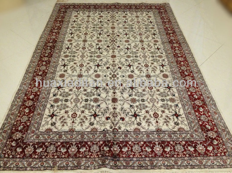 all-over design Silk hand-made rug discount top quality new arrival home hotel silk carpet