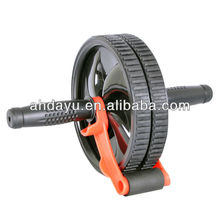 Exerciser Ab Wheel with brake Ab Roller Home Gym Workout Exercise Lose Weight Fitness Equipment