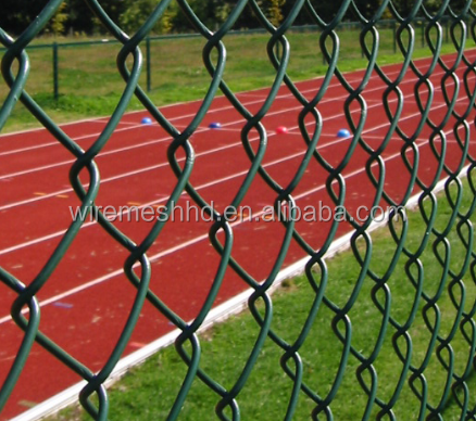 PVC Galvanized Chain Link Fence with High Quality