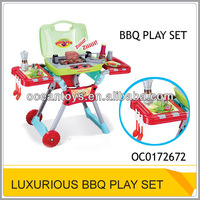 Luxurious Kids kitchen set toy with light & music BBQ set toy OC0172672