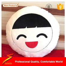 STABILE Emoji Handmade Cute Neck Pillow Filled with Hollow Cotton or Micro Particles