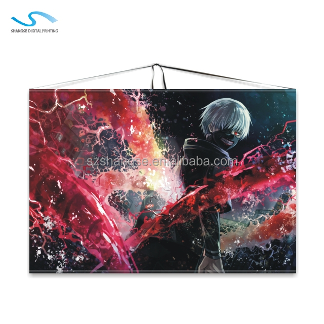 Children Promotional Gifts Wall Scroll Anime Prime for Home Decoration