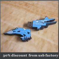 high quality 8GB warcraft shape pvc usb 2.0 flash disk