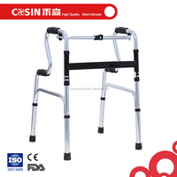 adjustable folding walker walking aids for the disabled