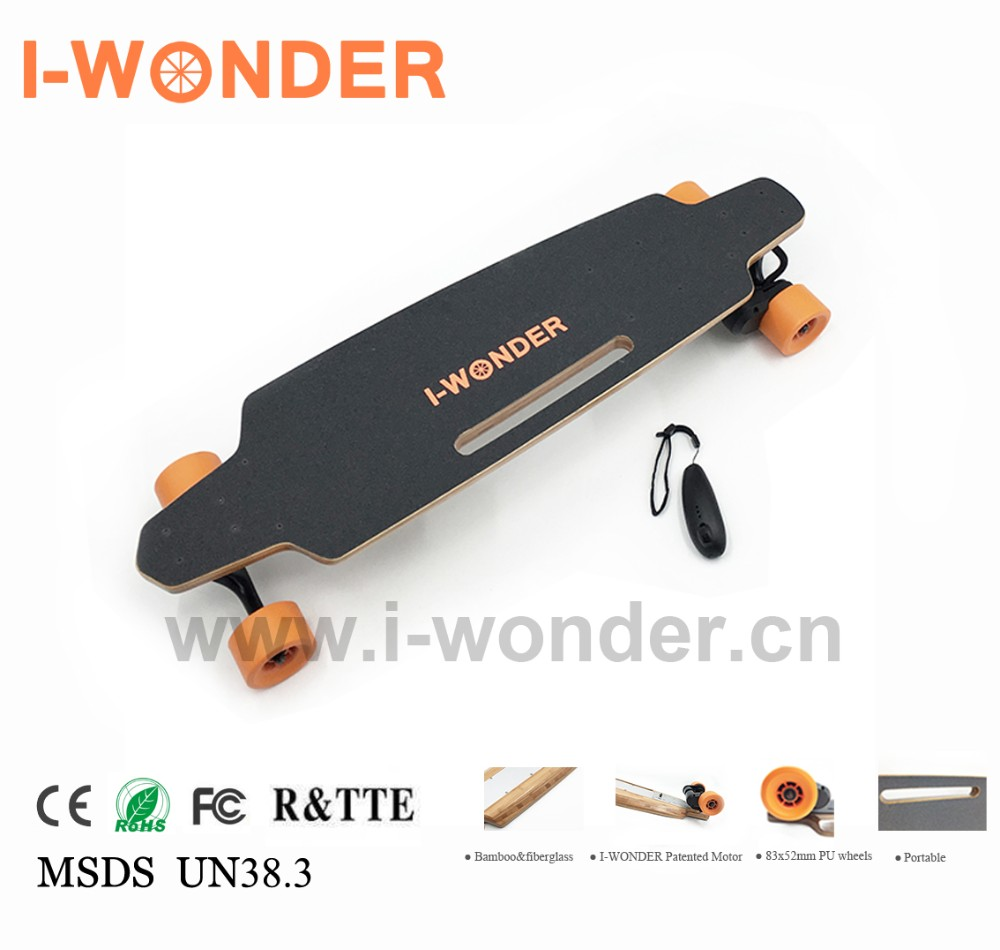 Electric skateboard Dual Motor SK-D2 Longboard Wireless Remote Control
