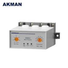 AKMAN Factory Price Rail Mounting Knob Setting Electric 40A Motor Protector Relay