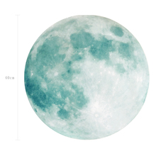 FL1074 40cm Sticker Glow In The Dark Moon Luminous Kids Planet