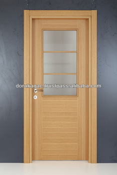 Dorstil Turkish Wood Veneered Glass Door