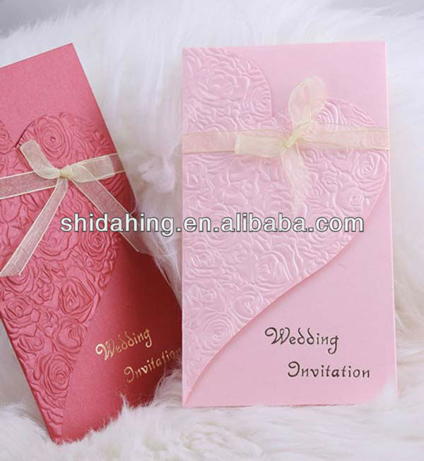 2017 new Invitation card for weding,party and festival