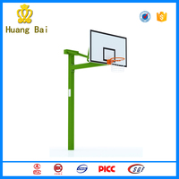 Park fitness equipment ground basketball stand