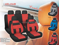 Toyota Blue,red,grey 9-piece Car Seat Cover Automotive Set