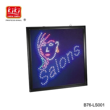 Salon Equipment.LED Sign.barber shop sign
